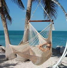 Knotted Hammock Chair Amazon Com Caribbean Hammocks Polyester Hanging Chair 48 Inc