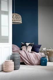 blue accent wall bedrooms navy blue accent wall gray and navy blue living room