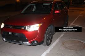 mitsubishi crossover 2015 lifestyle review my thoughts on the 2015 mitsubishi outlander gt