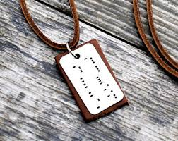 morse code necklace personalized morse code jewelry etsy