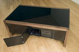 coffee table game console surface tension arcade game coffee table gadgetsin
