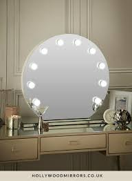 round makeup mirror with lights round vanity mirror with lights house decorations
