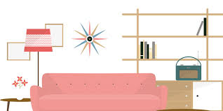 1950s interior design interior design an illustrated series of its history trends