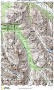 Eagle River Alaska Map by Recreational Maps Anchorage Avalanche Center Aac