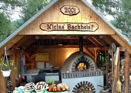 How To Build A Backyard Pizza Oven by Franks Construction Manual For A Wood Burning Pizza Oven