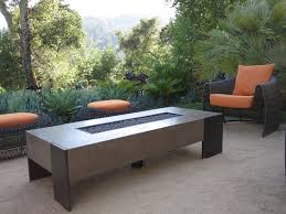 Contemporary Firepit Modern Concept Patio Fireplace Table With Montecito Pit Table