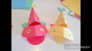 diy 3d make a moving fish video for kids kids craft fish for kids