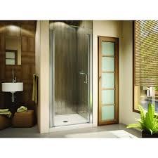 25 Shower Door Discobath Fleurco Banyo Sevilla In Line 25 X 64 Semi Frameless