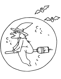 scary halloween coloring pages printable halloween witch coloring