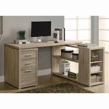 l shaped desk with hutch left return shop monarch specialties contemporary l shaped desk at lowes com