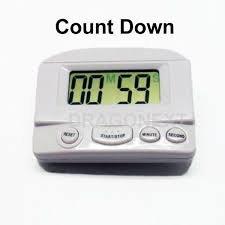 digital kitchen cooking sport countdown up timer alarm clock