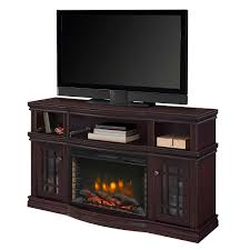 muskoka 42 in curved front wall mount electric fireplace