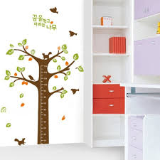children kids height measurement growth chart wall sticker cartoon children kids height measurement growth chart wall sticker