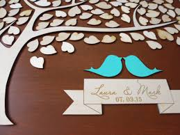 large wedding guest book wood large wedding guest book alternative 3d unique guestbook