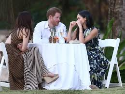 prince harry and meghan markle show sweet pda at his friend u0027s