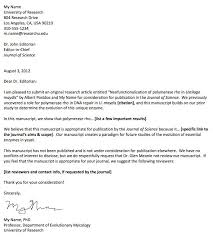 article cover letter cover letter for journal article 7623