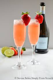 strawberry champagne serena bakes simply from scratch