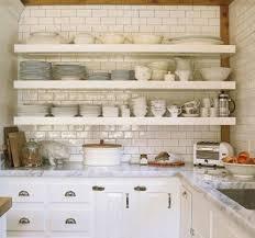 kitchen shelving open kitchen shelves atticmag
