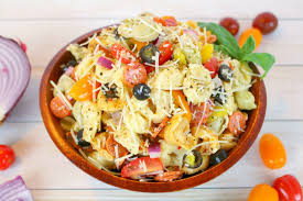 Pasta Salad Recipes With Italian Dressing Italian Tortellini Salad Delightful E Made