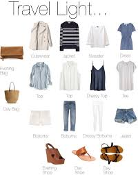 how to travel light images How to pack light easy how to on packing light travel light jpg