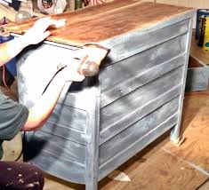 How To Repaint Wood Furniture by Meg Made Creations How To Make Wood Furniture Look Old Antique