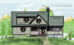 two story cabin plans small mountain cabin plan by max fulbright designs