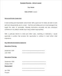 How To Do A Job Resume Format by 40 Blank Resume Templates U2013 Free Samples Examples Format