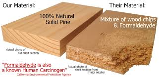 is mdf better than solid wood non toxic solid wood no particle board