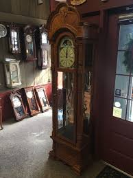 Emperor Grandfather Clock Ridgeway Oak Grandfather Clock Limited Edition U2022 3 095 00