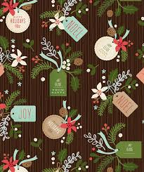 personalized gift wrapping paper personalized gift wrapping paper from minted merriment design