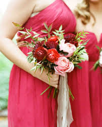 bridesmaid bouquets 49 bridesmaid bouquets your will martha stewart weddings