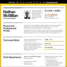Bold Resume Template by 35 Best Cv And R礬sum礬 Templates Idevie