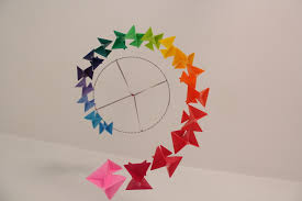 origami chambre bébé deco chambre bébé fait collection avec mobile pour baba en