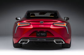 lexus coupe concept lexus rolls out the big guns new 467bhp lc 500 coupe revealed in