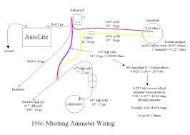 1966 mustang ammeter wiring diagram wiring diagram simonand