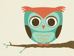 modern chevron owl silhouette print 8x10 chevron zig by tessyla