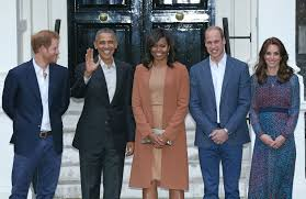 the obamas visit the uk in pictures
