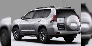 2018 toyota prado facelift leaked update photos 1 of 8