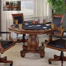 shop hillsdale furniture kingston wood game table at lowes com