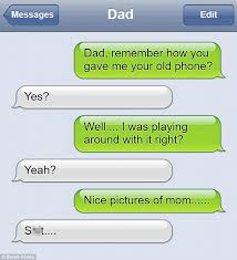 Failed Text Message Memes Com - are these the funniest dad texts ever daily mail online