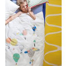 air balloon bed linen with pillow case childrens designer