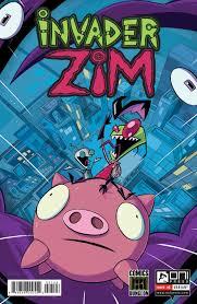 invader zim invader zim 1 vincent perea comics dungeon exclusive u2013 comics