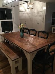 Farm Table Pictures by Simple Man Farmhouse Table Floyd Rustic