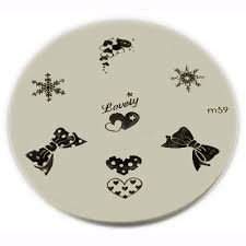 konad stamping nail art konad stamping nail art image plate m59