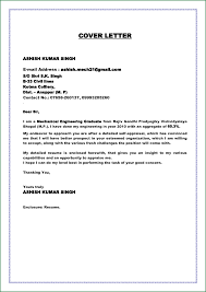 Best Mechanical Engineering Resume by Cover Letter Sample For Mechanical Engineer Resume Free Resume