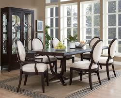 formal dining room color ideas brown varnished teak wood chairs