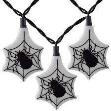 Halloween String Lights Halloween Spider Web Party String Lights