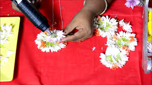 varnaranjita how to make real flower jewelry for mehndi and