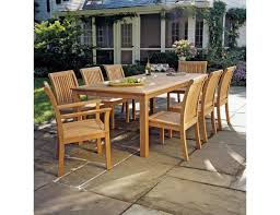 Gensun Patio Furniture Reviews Kingsley Bate Chelsea 9 Piece Dining Set
