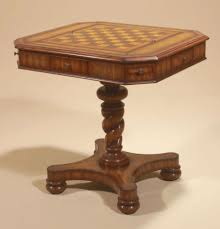 maitland smith game table maitland smith frontier finished barley twist pedestal game table